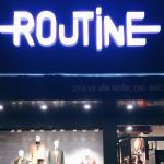 Hệ thống âm thanh cho shop thời trang của Firstsound được lắp đặt tại Routine