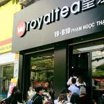 Hệ thống âm thanh cho quán cafe của Firstsound được lắp đặt tại Royal tea