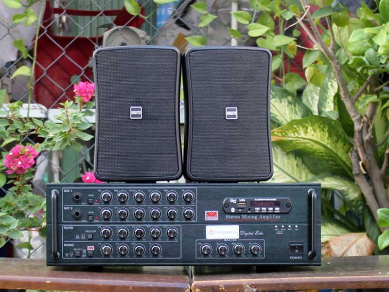 Dàn loa cho quán từ 50-100m2 FS-300 và 2 WS-30T