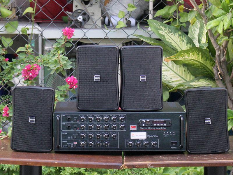 Dàn loa cho quán 50-100m2 FS-300 và 4WS-30T