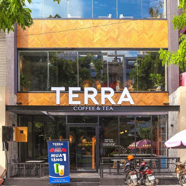 Loa cho chuỗi cà phê terra coffee and tea