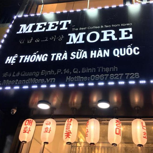 Loa cho quán trà sữa meet and more