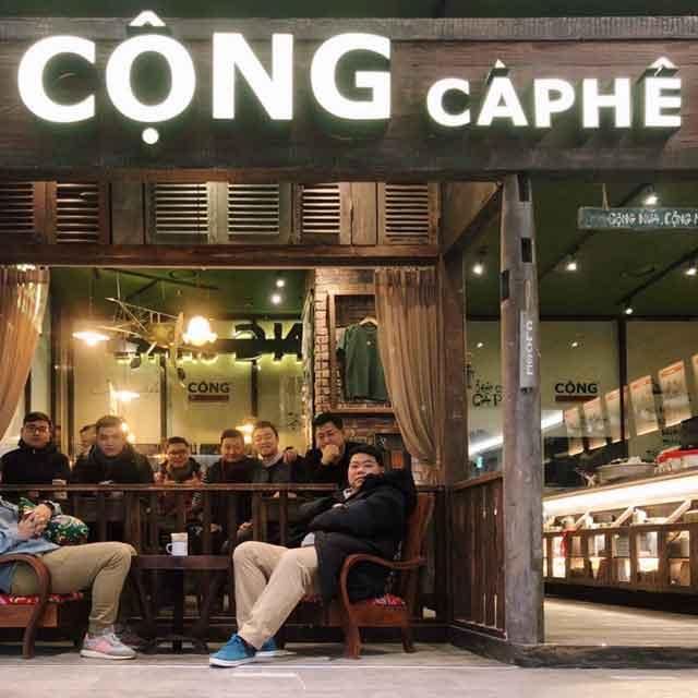 Loa cho quán cà phê cộng cà phê