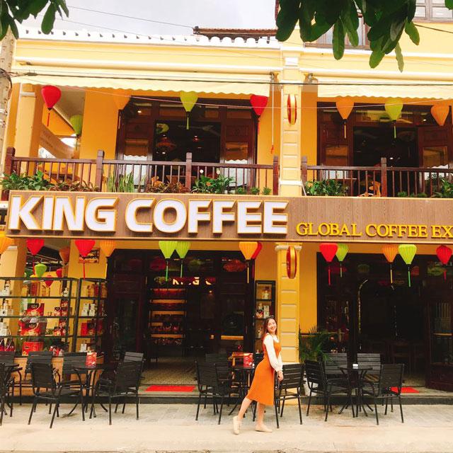 Loa cho quán cà phê King Coffee