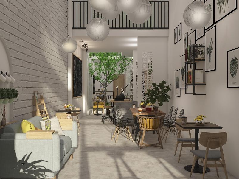 Làm gì để thiết kế quán cà phê nhỏ đẹp và độc đáo ?