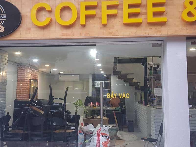 Dàn acoustic cho quán cà phê