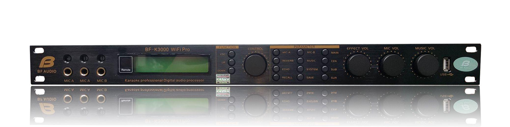 Mixer BF AUDIO K-3000 Wifi Pro nâng tầm đẳng cấp âm nhạc