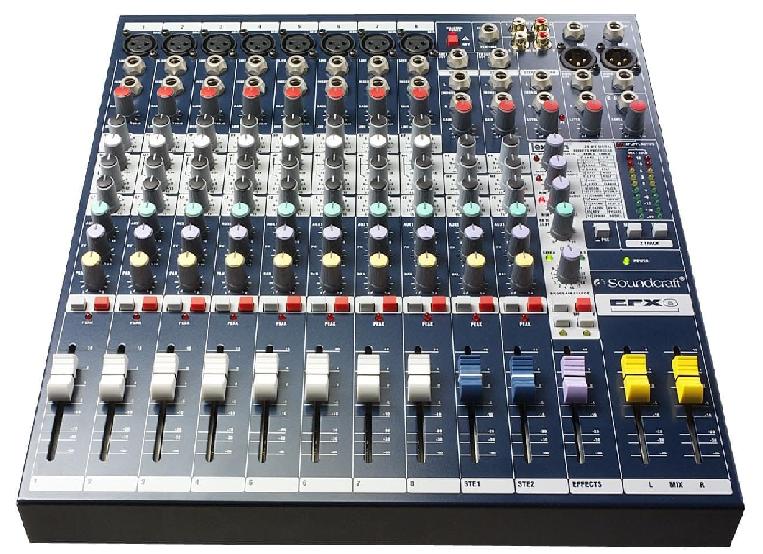 Mixer Soundcraft MFX 8/2 chính hãng, chất lượng