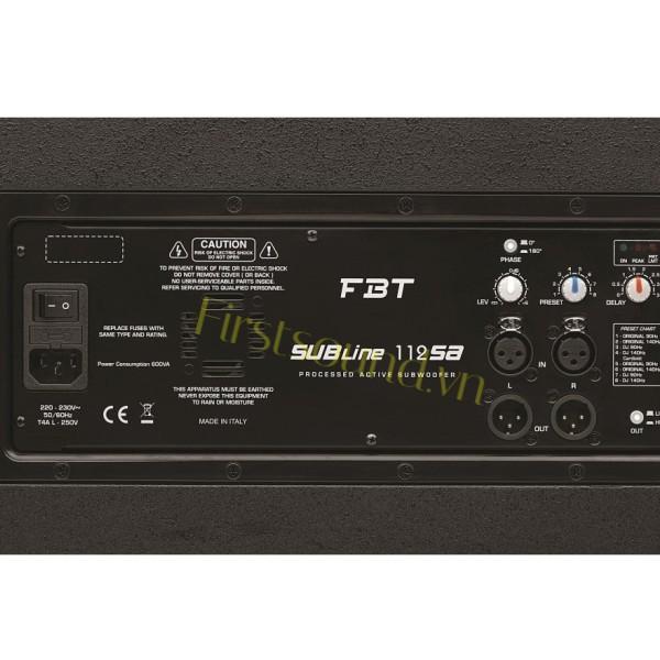 Loa sân khấu FBT VENTUS 206A-Loa FBT nhập khẩu chính hãng