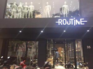 Loa cho chuỗi thời trang routine
