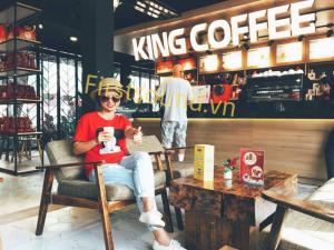Tư vấn và hỗ trợ lắp đặt âm thanh, loa cho quán cafe King Coffee, Vũng Tàu