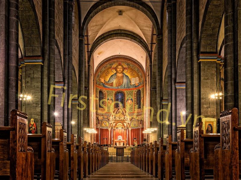 Tư vấn giải pháp hệ thống âm thanh cho nhà thờ - Loa FBT cho nhà thờ