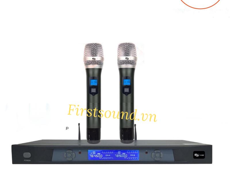 Micro Karaoke E3 V660 có giá 5.500.000đ