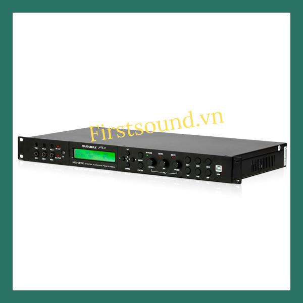Vang số Paramax Pro MX-2000 nâng tầm âm nhạc Việt