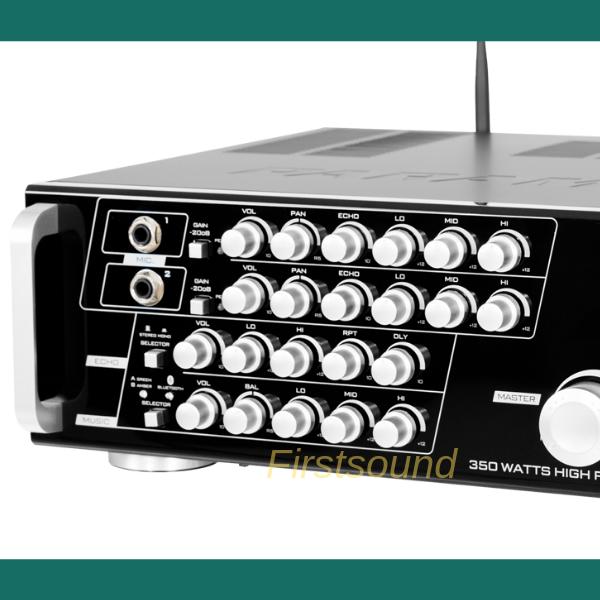 Amply karaoke Paramax SA-888AIR được thiết kế tỉ mỉ đến từng chi tiết