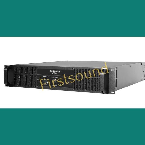 Main công suất Paramax-Pro MA-220 có thể kết hợp với loa công suất lớn