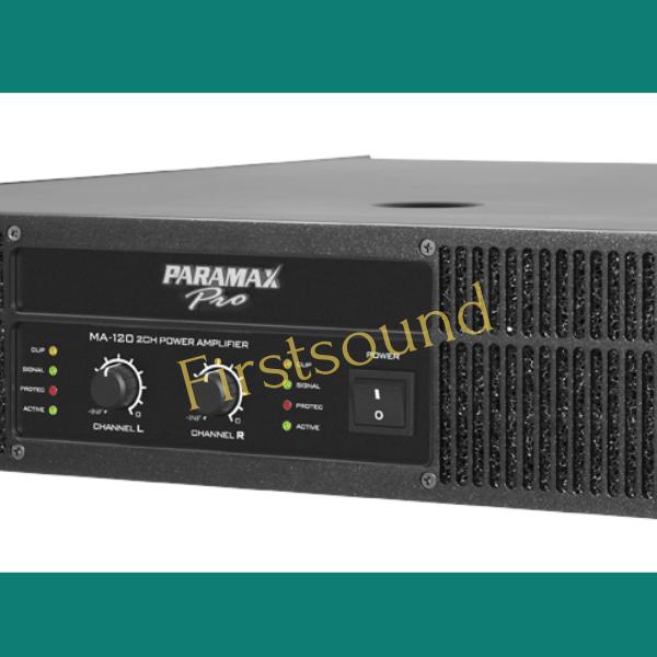 Main công suất Paramax-Pro MA-220 được thiết kế tỉ mỉ và tinh tế