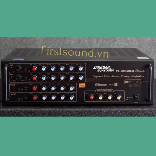Amply Jarguar PA-203 Gold Bluetooth chính hãng
