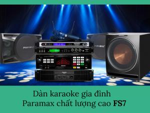 Chọn dàn loa karaoke gia đình