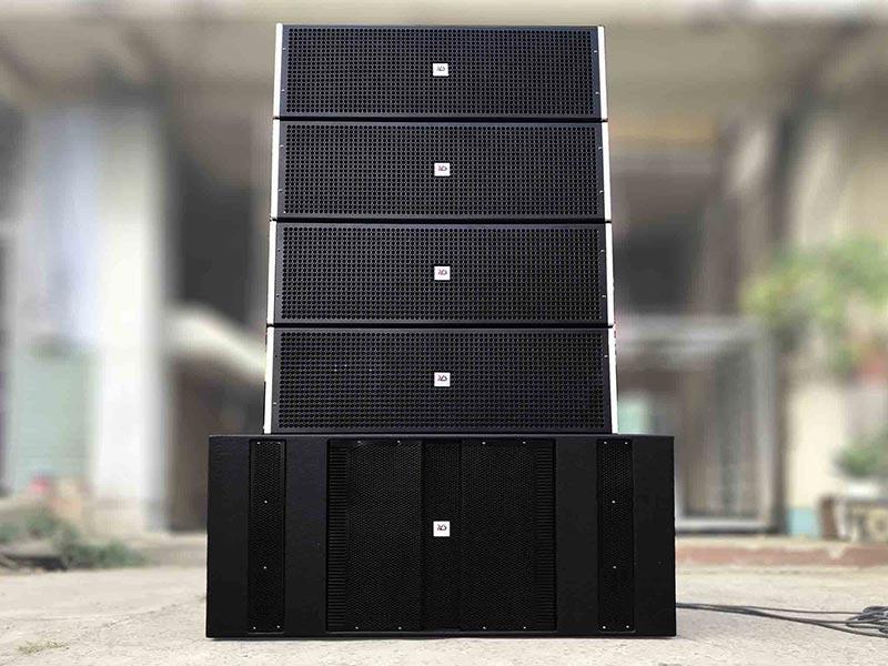 Loa array được sử dụng rất phổ biến trong các sự kiện