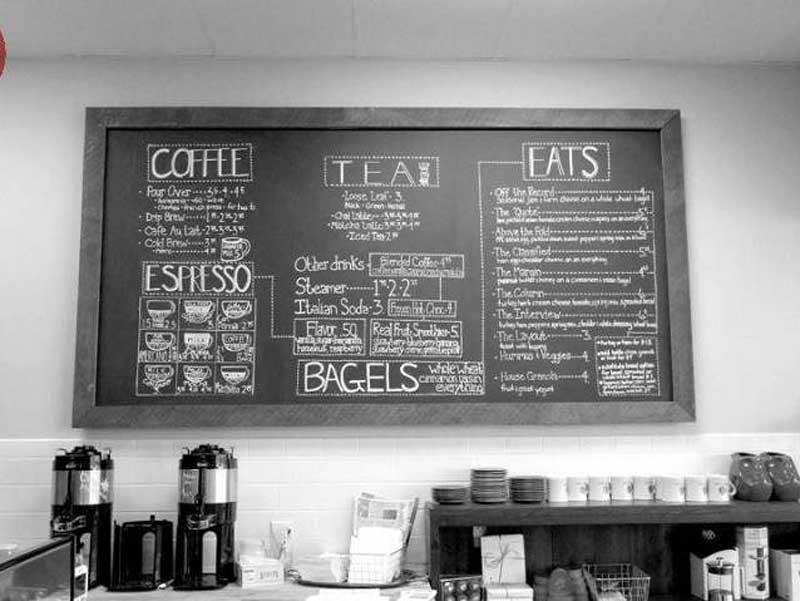 Menu cho quán cà phê-2