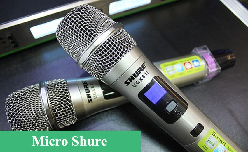 Micro, một đầu vào của dàn âm thanh