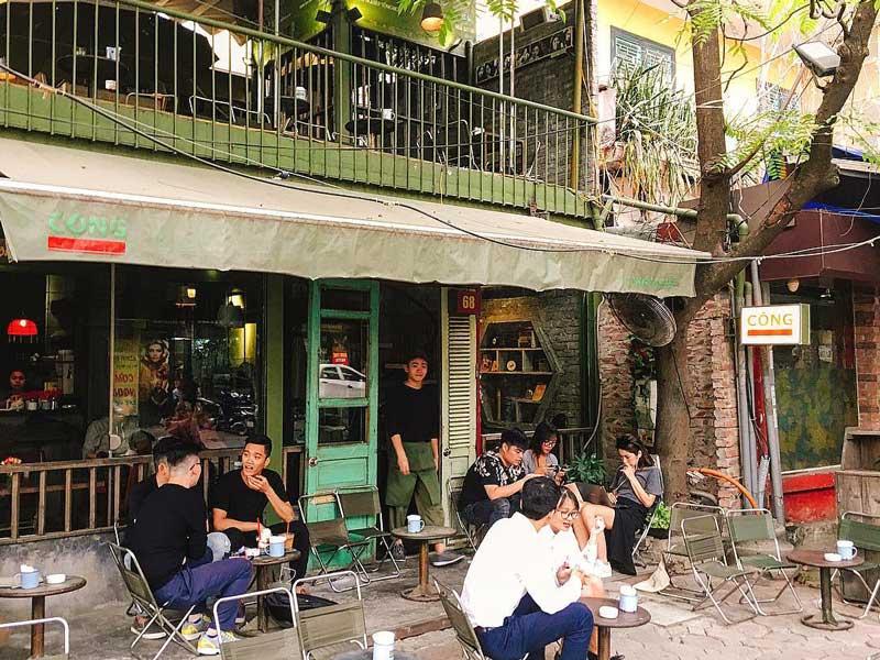 Thiết kế quán cà phê bình dân -1