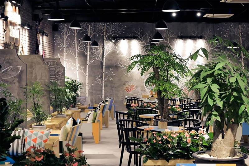 Diện tích không gian quán cafe là yếu tố quan trọng hàng đầu ảnh hưởng đến giải pháp wifi cho quán cafe