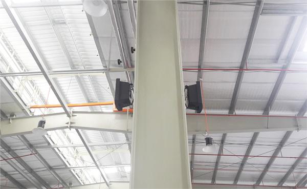 Giải pháp loa cho nhà xưởng dưới 200m2