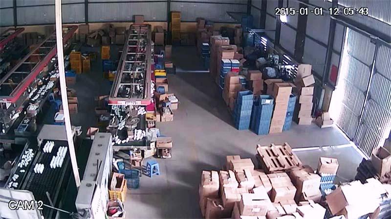 Lắp đặtcamera nhà xưởng tại khu vực nhà kho và dây chuyền sản xuất