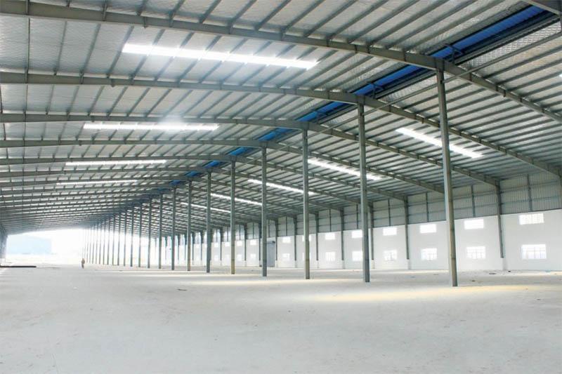 Quy mô diện tích ảnh hưởng đến khoản chi phí xây dựng nhà xưởng