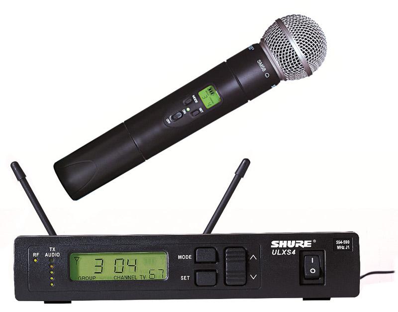 Micro karaoke không dây Shure UR4S