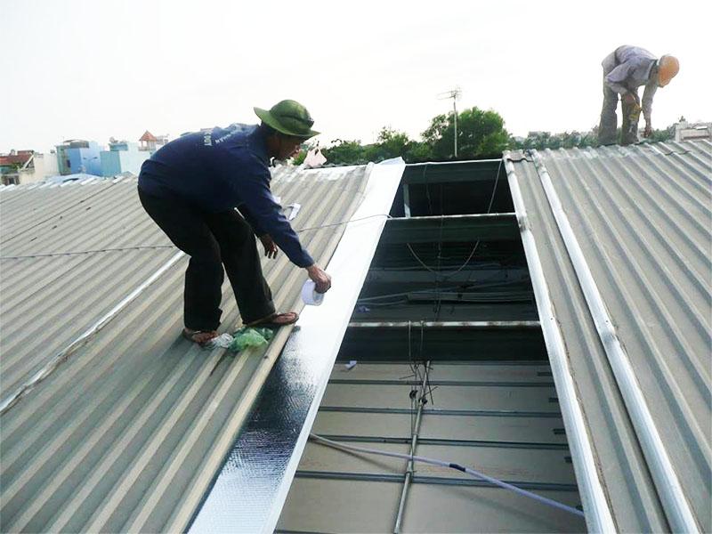 Các bước thi công mái tôn nhà xưởng