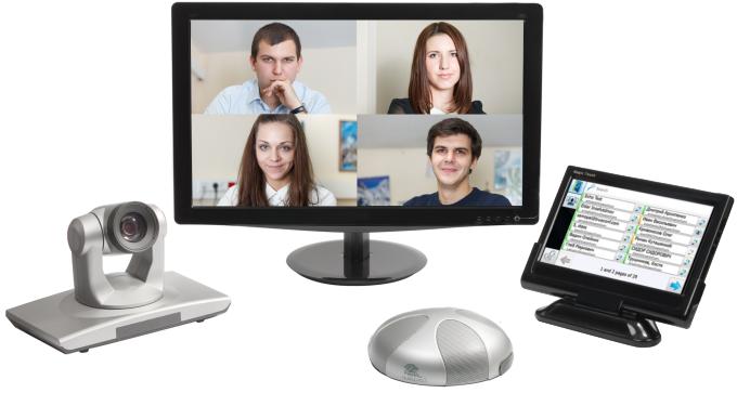 Tìm hiểu về thiết bị phòng họp trực tuyến