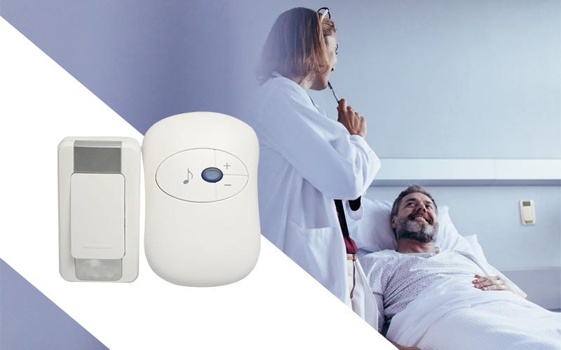 Chuông báo đầu giường bệnh viện, phòng khám - Sự an tâm của người bệnh