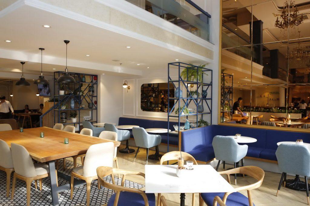 Loa cho quán cafe của Firstsound lắp đặt tại The Cup Cafe