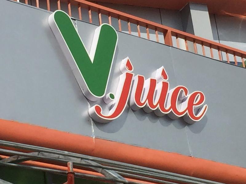 Loa cho quán cafe của Firstsound đồng hành cùng VJuice Fruit
