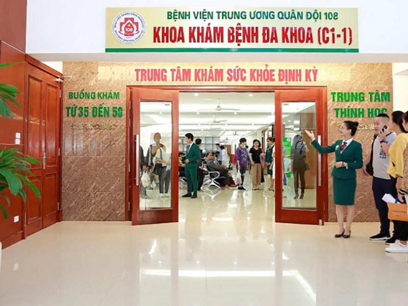 Âm thanh thông báo cho bệnh viện 108 Hà Nội (3)