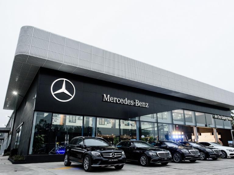 Thiết bị Âm thanh thông báo cho Mercedes Quang Trung, Gò Vấp - Loa Inter-M 1