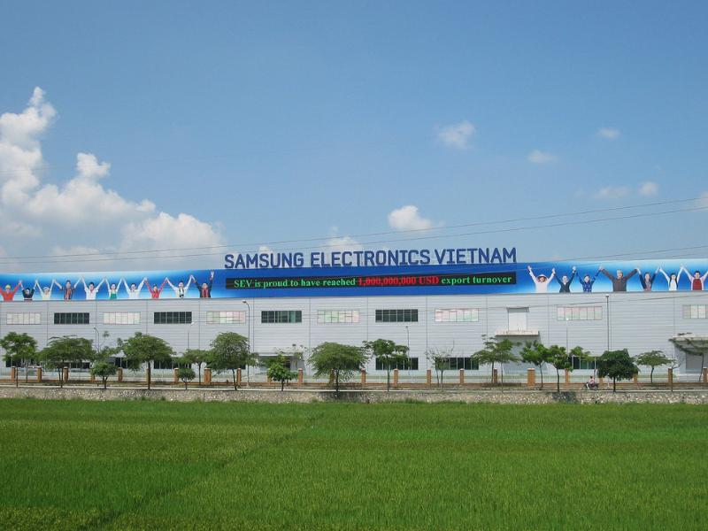 Âm thanh thông báo cho nhà máy Samsung ở Thái Nguyên (1)