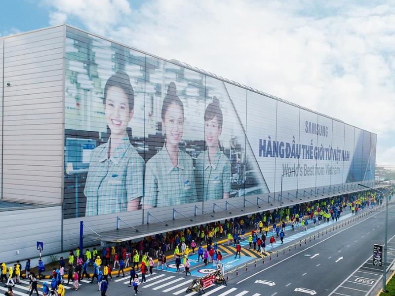 Âm thanh thông báo cho nhà máy Samsung ở Thái Nguyên (2)