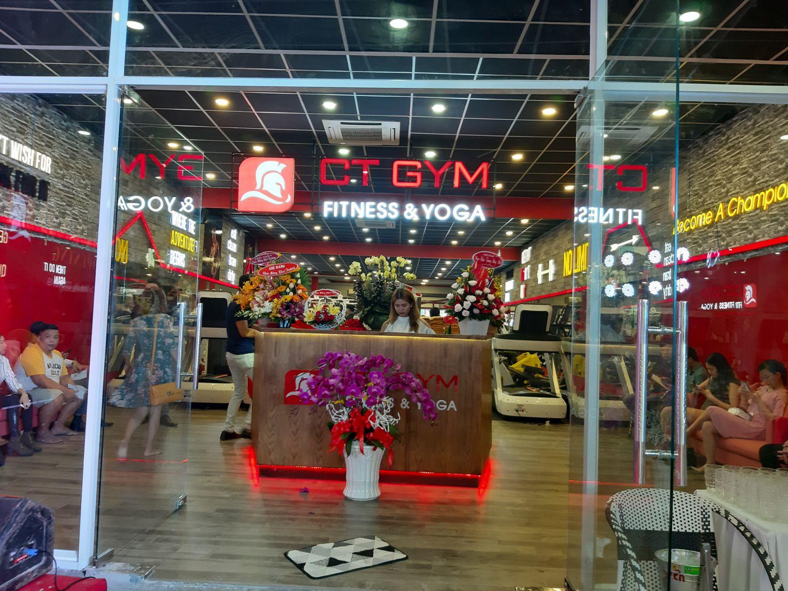 Hệ thống phòng gym CT GYM