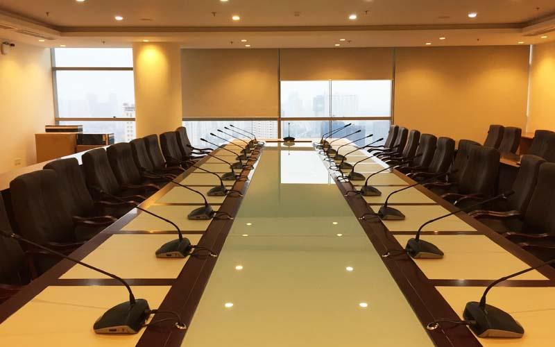 Lắp đặt hệ thống âm thanh cho phòng họp hội nghị