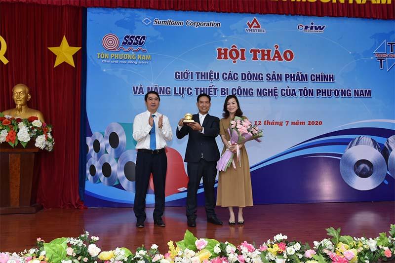 Hội nghị giới thiệu sản phẩm mới của nhà máy tôn phương nam