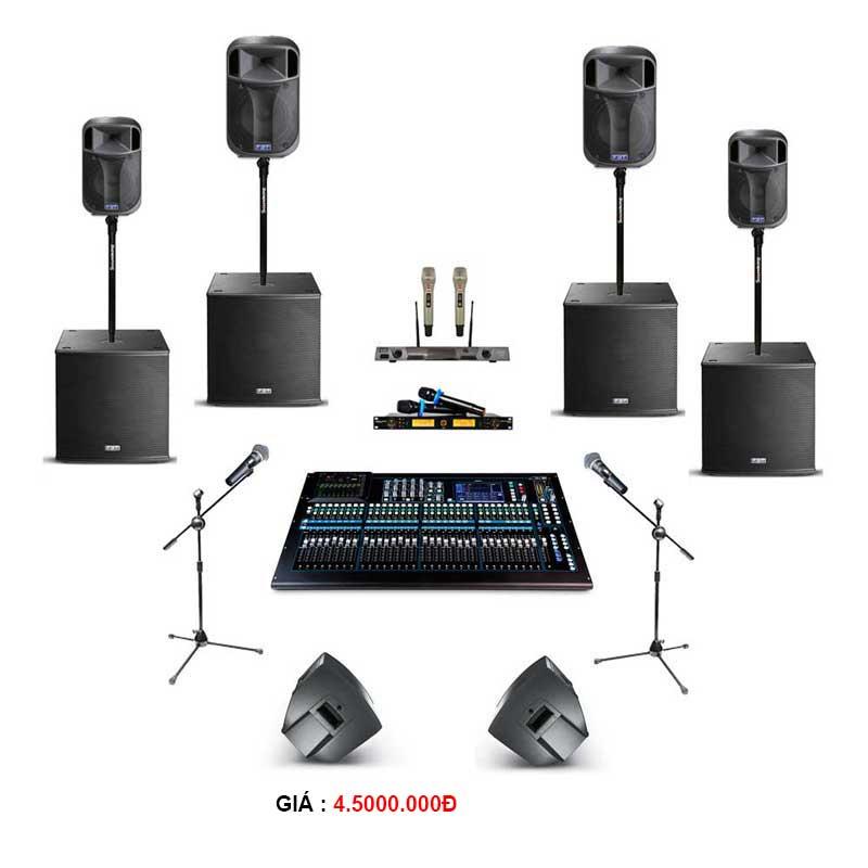 Bộ thiết bị cho thuê âm thanh tiệc 100-200 khách