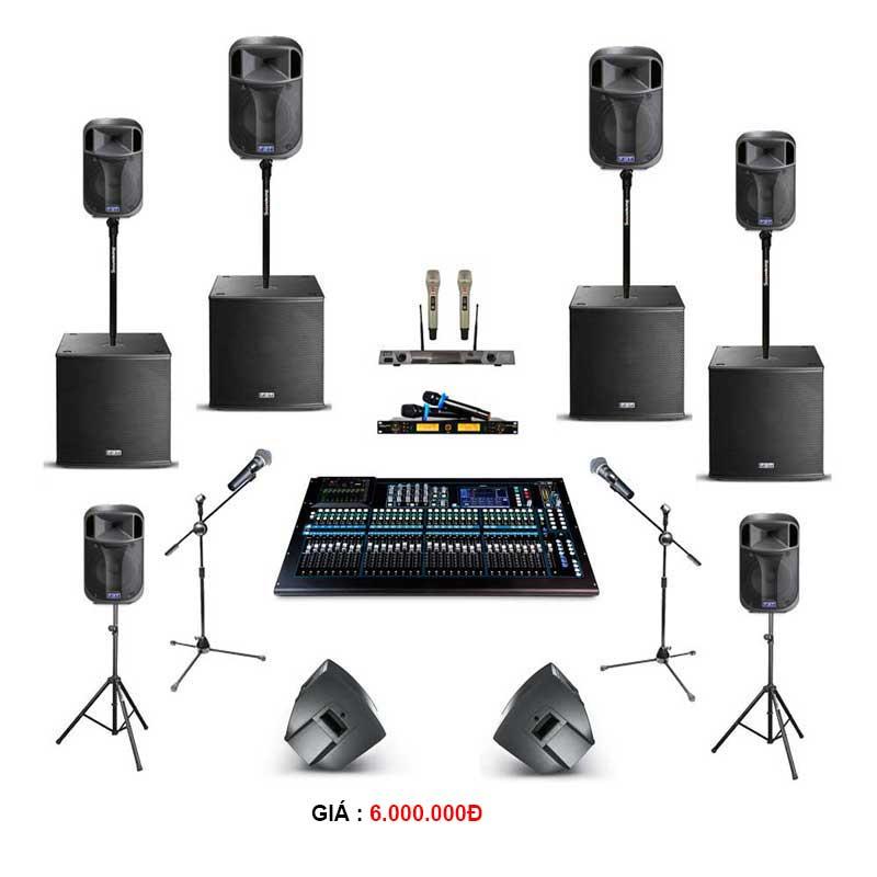 Cho thuê thiết bị âm thanh cho tiệc từ 200-300 khách hàng