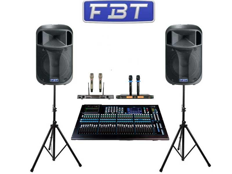 Bộ âm thanh cho tiệc 50-100 người
