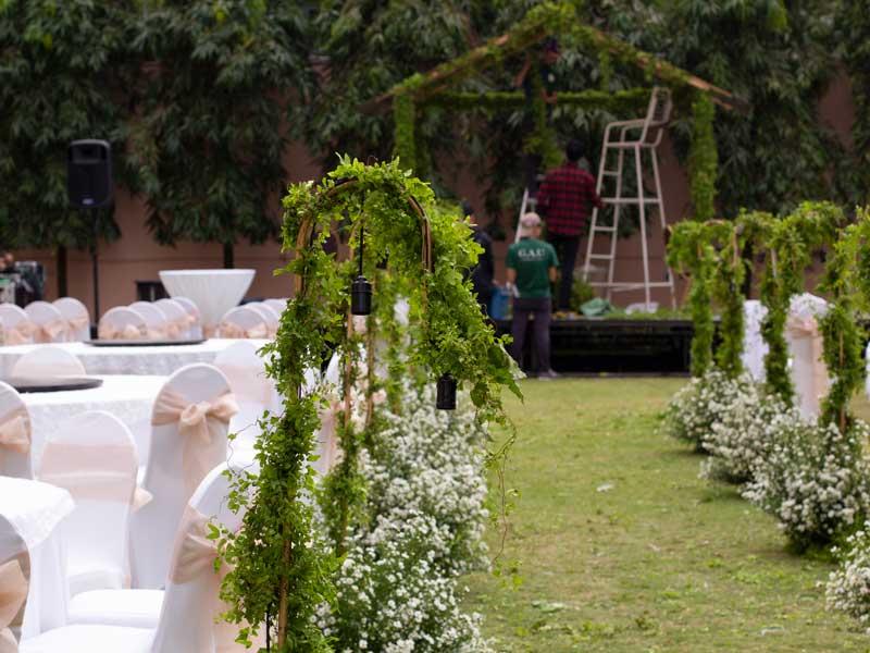 Dàn âm thanh cho tiệc cưới
