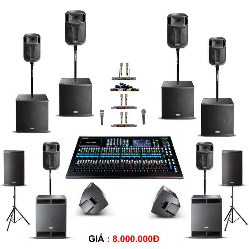 Cho thuê âm thanh tiệc từ 400-500 khách hàng