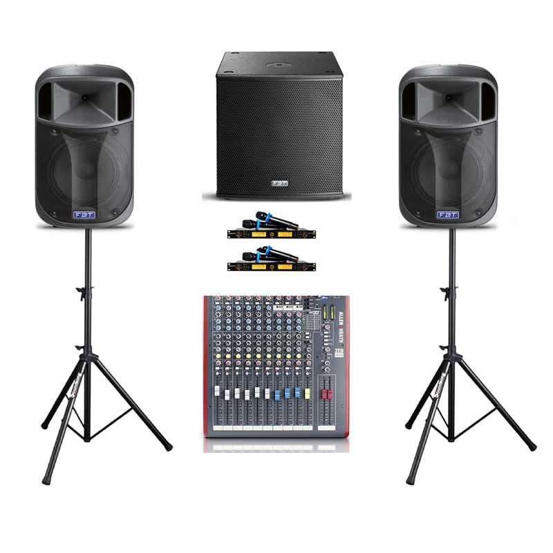 Dàn cho thuê âm thanh cho tiệc từ 50-100 khách